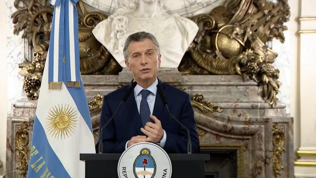 Macri anuncia la reducción de Ministerios
