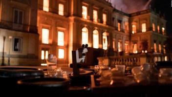 """El incendio del museo en Brasil es """"irreparable"""""""