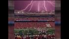#LaImagenDelDía: tormenta eléctrica obliga a cancelación de partido