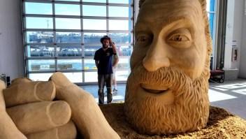 Esculturas gigantes de arena en San Diego