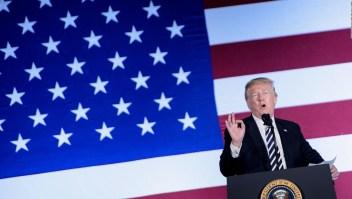 La advertencia que Trump hizo a Siria, Irán y Rusia