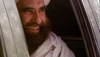 Jalaluddin Haqqani en una imagen de 2001 en Islamabad, Pakistán.