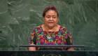 Rigoberta Menchú critica a presidente de Guatemala