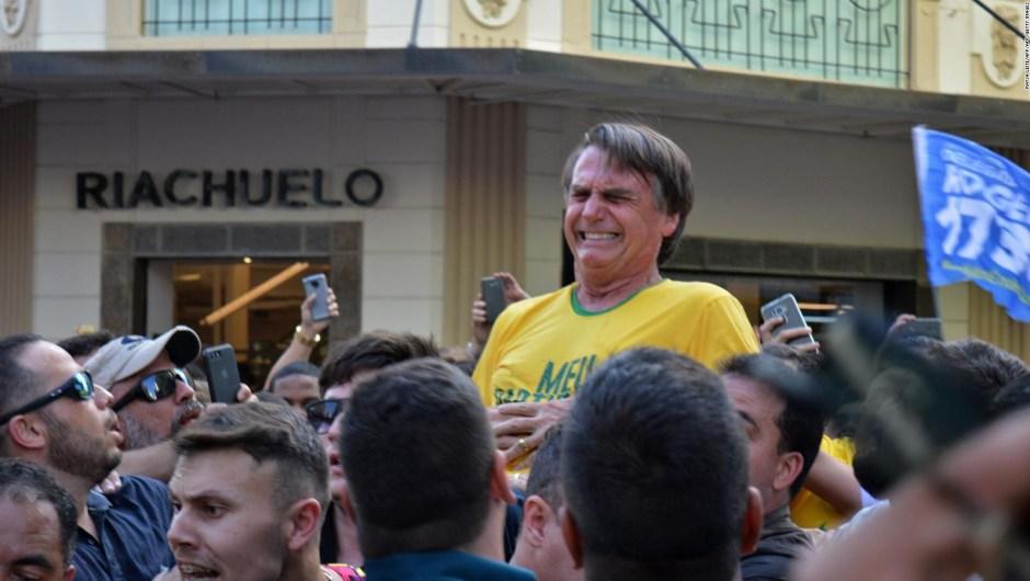 Bolsonaro esta en cuidados semiintensivos