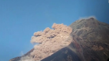 Nuevas erupciones volcánicas en Guatemala