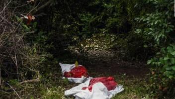¿Hay confusión sobre la antigüedad de restos de fosa en Veracruz?
