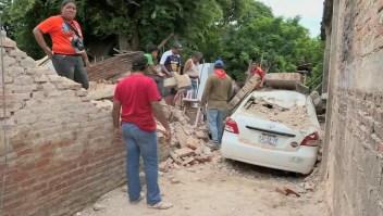 """""""Ya tenemos un techo"""": a un año del sismo en Oaxaca"""