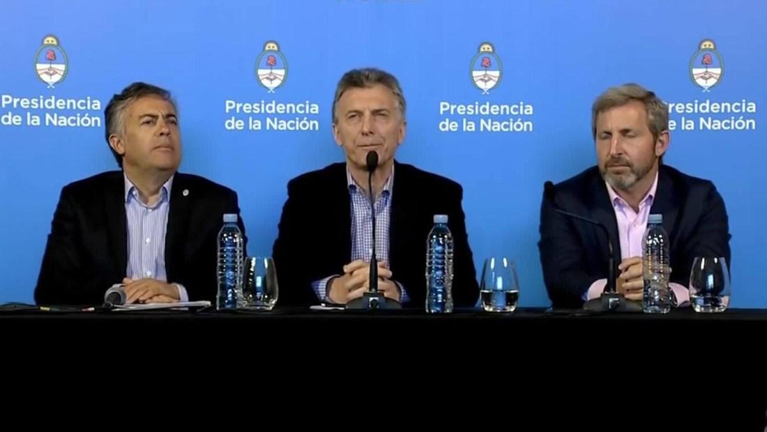 Macri busca respaldo de gobernadores a su presupuesto de 2019