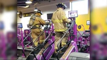 El tributo de bomberos de EE.UU. a las víctimas del 11S