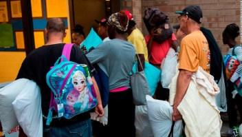 Evacuaciones antes de la llegada del huracán Florence