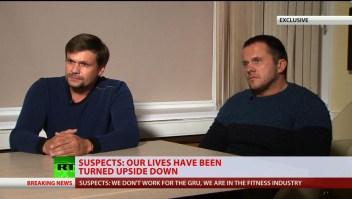 Supuestos espías rusos niegan acusaciones sobre caso Skripal