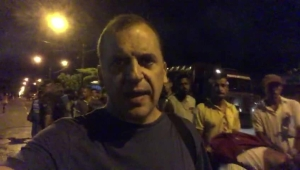 La fila de inmigrantes venezolanos en Roraima, Brasil