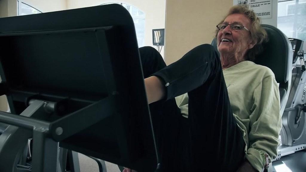 Los abuelos también deben ir al gimnasio