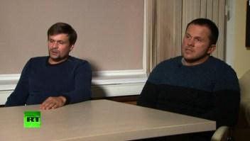 """El """"viaje de turismo"""" de los presuntos autores del ataque a los Skripal"""
