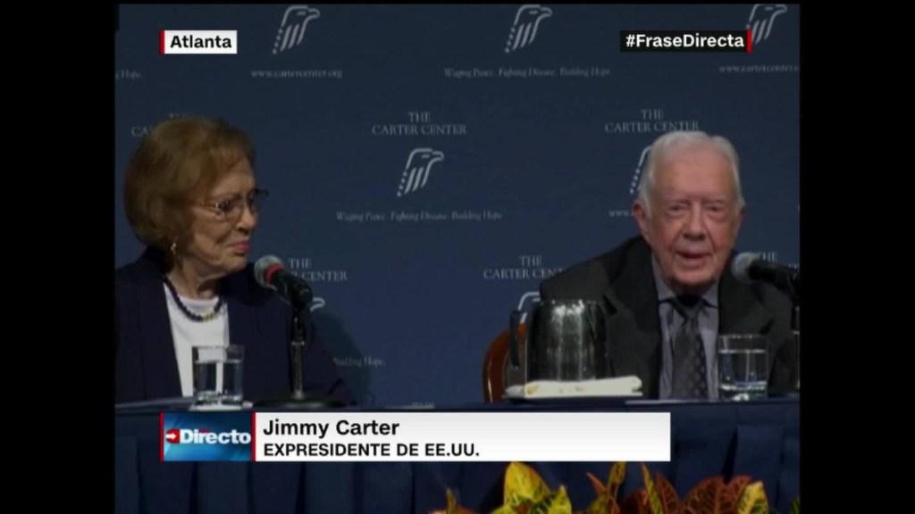 El amor eterno de Jimmy y Rose Carter