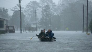 Aumentan inundaciones tras el paso de Florence