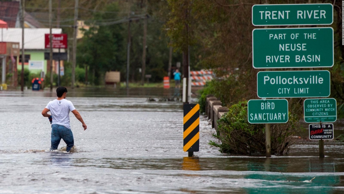 Florence se estaciona en las carolinas dejando fuertes inundaciones