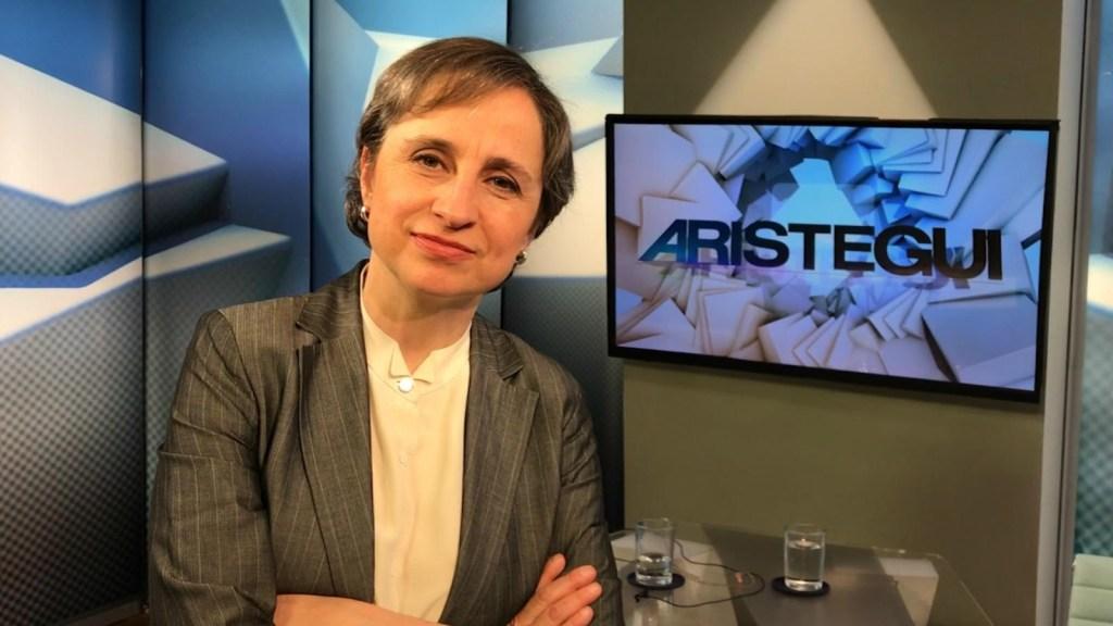 Aristegui, ganadora del Premio Zenger 2018