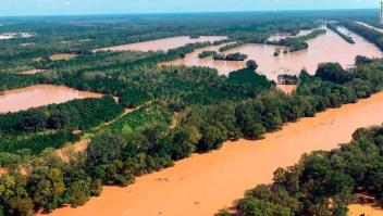 Inundaciones tras el paso del huracán Florence por Estados Unidos.