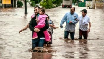Así se ven las inundaciones en el norte de México