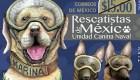 Estampilla honra a los perros rescatistas en México