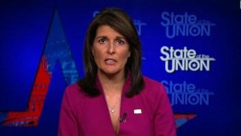 Haley: Firme frente a Irán