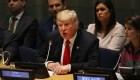 Trump, bajo la lupa en la reunión de la ONU