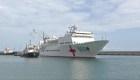 Barco hospital chino llega a Venezuela