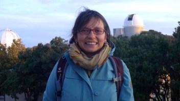 Colombiana que estudia planetas gana premio de física
