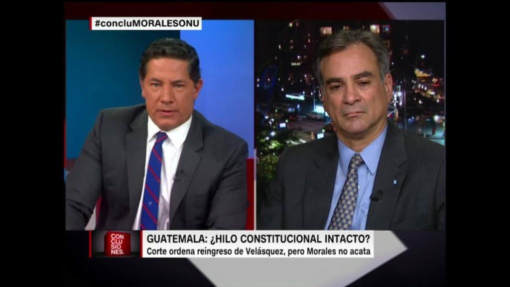 """Fernando del Rincón al embajador de Guatemala en la ONU: """"No insista en que tengo una agenda"""""""