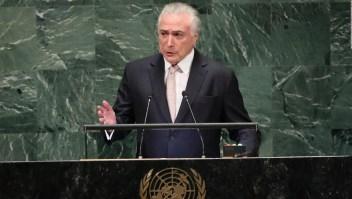 Temer: Brasil ofrece una nueva vida a los inmigrantes