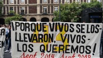 Se cumplen 4 años de la desaparición de los 43 de Ayotzinapa
