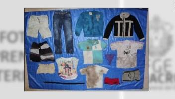 Publican fotos de prendas de los muertos hallados en fosas clandestinas