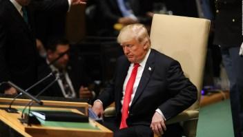 Trump provocó risas en su discurso ante la ONU