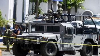 Autoridades mexicanas toman el control de la policía de Acapulco