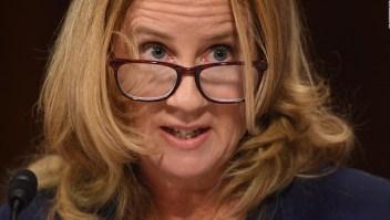 Ford dice que está segura de que su agresor fue Kavanaugh
