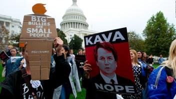 Así fueron las protestas a favor y contra de Brett Kavanaugh