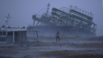 Quinto tifón desde julio que sacude a Japón