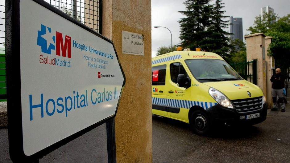 Hospital Carlos II de Madrid. (Crédito: Gonzalo Arroyo Moreno/Getty Images)