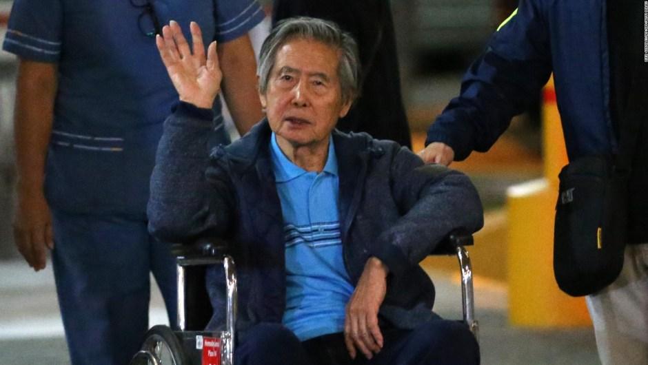 Perú: Congreso aprueba ley que favorecería a Alberto Fujimori