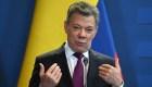 Una mujer insultó a Juan Manuel Santos en un avión