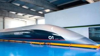 Así se ve la primer cápsula de pasajeros del Hyperloop