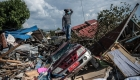 Sobrevivientes en Indonesia relatan el pánico que vivieron