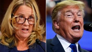 ¿Afectará a Kavanaugh la burla de Trump a la doctora Ford?