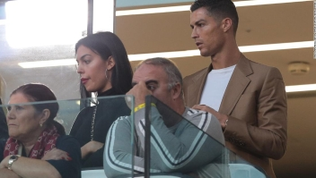 Cristiano Ronaldo durante un partido de la Juventus