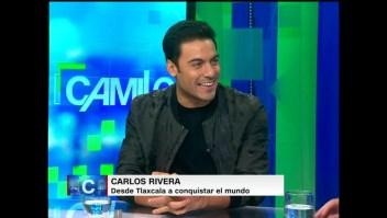 Carlos Rivera nos cuenta cómo pasó de grabar versiones ajenas a incluir sus propios temas