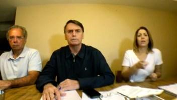 Elecciones en Brasil: Bolsonaro se define de centroderecha de cara a la segunda vuelta presidencial