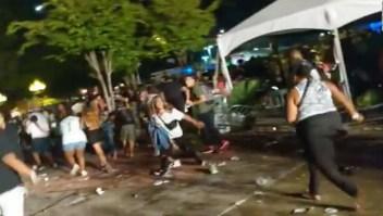 Caos en concierto de Lil Wayne