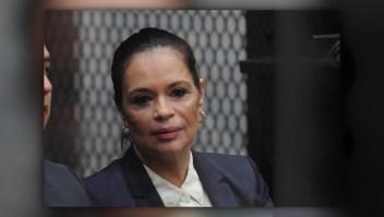 El impacto de la condena contra la exvicepresidenta Baldetti