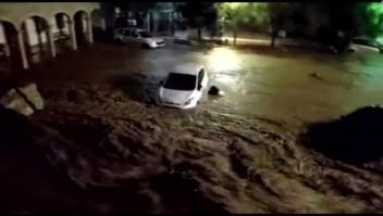 Tormenta mortal afecta Mallorca, España